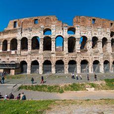 Strunta i att gå in – Colosseum